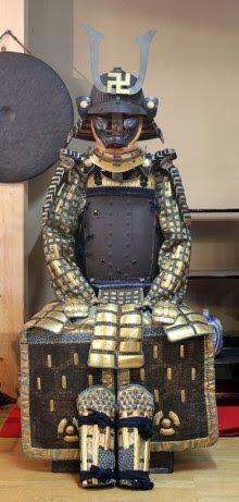Karuta armor of the Hachisuka clan: