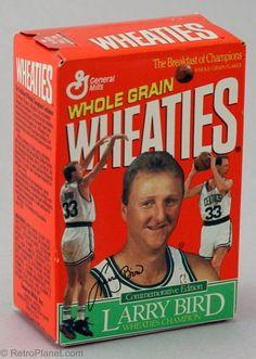 Retro Image Larry Bird Wheaties Box