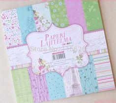 Compra scrapbooking los paquetes de papel online al por mayor de ...