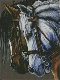 free cross stitch patterns horses - Google Search