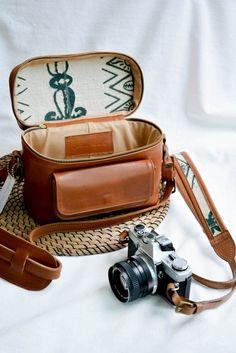 The Travel SetTravel AccessoriesDSLR Camera BagCamera Source by Itsannacabrera Bags leather Leather Camera Strap, Camera Straps, Leather Bag, Brown Leather, Dslr Camera Bag, Camera Case, Camera Bag Purse, Camera Hacks, Camera Gear