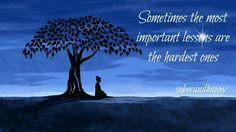 Hardest lessons