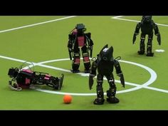 How Exciting Is Robot Soccer? (It depends on the announcers) #video