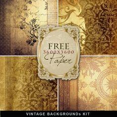 Far Far Hill: Freebies Vintage Paper Kit