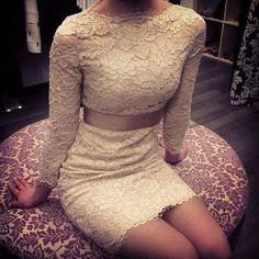 Classy lace dress