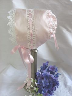 Another cute baby bonnet for Easter