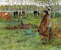 EL BLOG DE MARCELO: Protagonistas, los niños: la pintura de Nikolay Bogdanov-Belsky