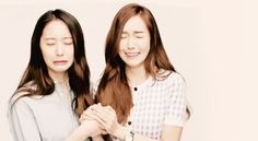 Jessica & Krystal Jungsis Crying Time lol