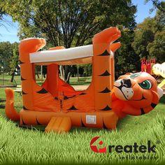 Skákací hrad pre deti s dizajnom tigra. Disney Characters, Fictional Characters, 3d, Disney Face Characters
