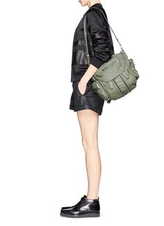 ALEXANDER WANG  'Marti' mini washed leather backpack