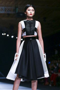 Ly Giam Tien, Vietnam International Fashion Week 2014