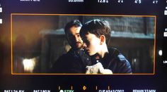 Behind the scenes from the filming of A Monster Calls