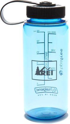 REI Nalgene Wide-Mouth Loop-Top Water Bottle - 16 fl. oz. - REI.com
