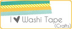 washi tape crafts badge