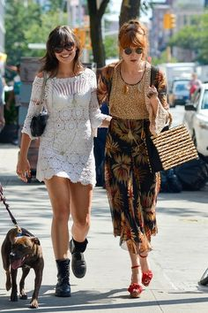 Florence Welch and Daisy Street Style