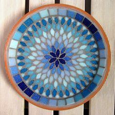 Gypsy Sky Mosaic Garden Yard Water Bird Bath Decor More Mosaic Birdbath, Mosaic Tray, Mosaic Pots, Mosaic Birds, Mosaic Glass, Garden Mosaics, Stone Mosaic, Stained Glass, Mosaic Crafts