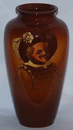 Weller Pottery Dickensware Vase