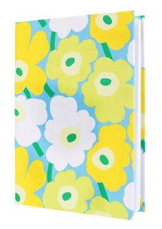 A happy floral journal from Marimekko