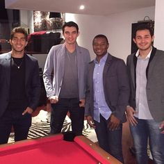 Lucas with his friends | May 2015