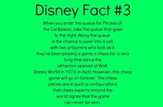 Check this out next time you're at Disney World #funfact