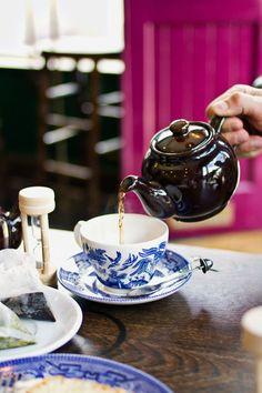 Sunday in Shoreditch: english tea room london hawkhurst vault