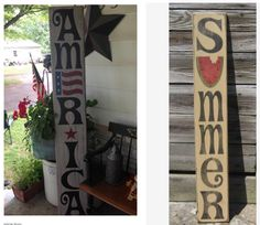 flag day crafts wood american flag amp welcome sign reversible sign by 2025