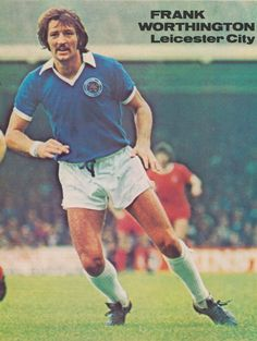 Frank Worthington Leicester City 1977 Leicester City Football, Leicester City Fc, Frank Worthington, Laws Of The Game, Association Football, Most Popular Sports, Foxes, Fifa, World Cup