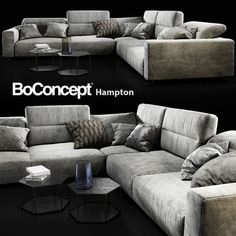 Sofa BoConcept Hampton   3D Model