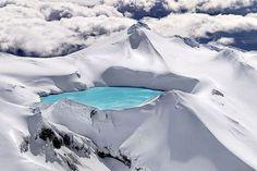 Emerald Lake in Winter.
