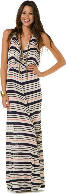 QSW INLET STRIPE MAXI DRESS > Womens > Clothing > Dresses | Swell.com