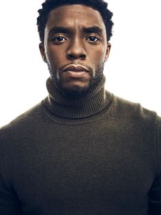Chadwick Boseman on the Pressure to Get 'Black Panther' Right Black Panther Marvel, Gorgeous Black Men, Beautiful Men, Beautiful People, Beautiful Moments, Pretty People, Black Boys, Fine Black Men, Fine Men