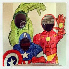 Avengers diy photo op