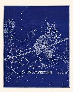 Calendar Zodiac Calendar Astrology Calendar By Capricornpress