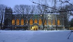 Law Library at the University of Michigan in Ann Arbor