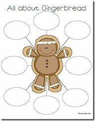Gingerbread Bubble Map- FREE
