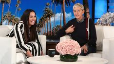 Reportedly Invites To With Her When She's Out Of Ellen DeGeneres, and wife Portia de Rossi, have committed an act of true friendship. Portia De Rossi, Ellen Degeneres Show, The Ellen Show, Funny Moments, Funniest Moments, Try Not To Laugh, Hollywood Life, Female Singers, Demi Lovato