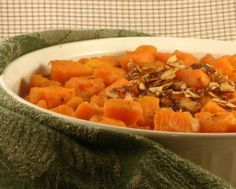 A Veggie Venture: Maple Ginger Sweet Potatoes ♥  Prepare the day before to cut down on kitchen time Christmas Day