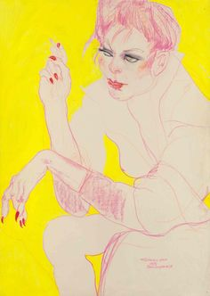 Drawing live in fetish clubs, punk squats and on the performance scene of 1970-90s London, Berlin and New York, Jo Brocklehurst's artwork is a unique...
