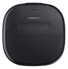 Bose SoundLink Micro Waterproof Portable Wireless Bluetooth Speaker - Black NEW Wireless Speakers, Bluetooth Headphones, In Ear Headphones, Great Speakers, Waterproof Speaker, Speaker System, Tech Gifts, Bose, Siri