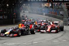 Start of the 2014 Monaco Grand Prix.