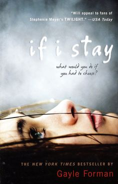 What it's about: This novel follows a young girl who's been in a terrible accident. After the trauma, 17-year-old Mia can't remember what happened, but she slowly tries to put all the pieces together in her mind. Who's starring: Chloë Moretz is attached to star as Mia in the film adaptation.