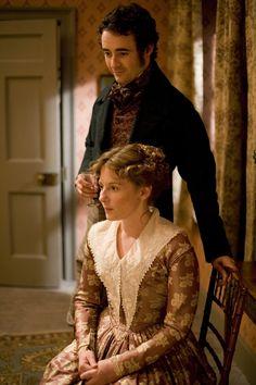 Lisa Dillon as Mary Smith and Joe McFadden as Jack Marshland in the 2007 BBC TVserie 'Cranford' #CostumeDesign: Jenny Beavan