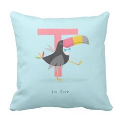 T is for... pillow