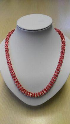 Ketting met duo beads