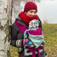 JoNoBaby Babysize, Standard, Toddler | Elefantenparade Hellblau