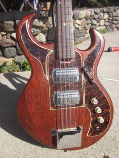 Vintage 1960's Ibanez Bison 5902 Electric Guitar Hoshino Gakki