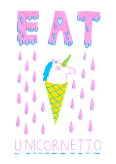 ar Mister jangojim -  unicornetto #ice_cream #illustration