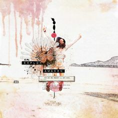 Oh wow! This layout byLi Li Weeis just fantastic. I love the mix of blended photos and textures with the more dimensional elements. I love...