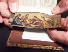 fore-edge painting from the studio of www.foredgefrost.co.uk Painting Edges, Frost, Studio, Book, Study, Books, Book Illustrations, Studying, Libros