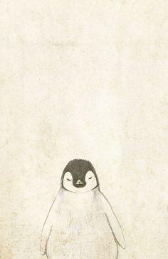 Penguin Art Print by Kayla Cole